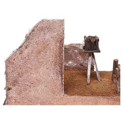 Ambientación fotógrafo 20x25x20 cm para belenes de 12 cm 4