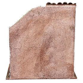 Fienile 25x25x20 cm per presepe di 12 cm  s4