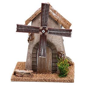 Windmill 20x15x10 cm, for 4-6 nativity s1