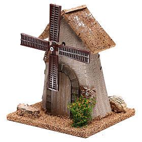 Windmill 20x15x10 cm, for 4-6 nativity s2