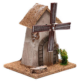 Windmill 20x15x10 cm, for 4-6 nativity s3