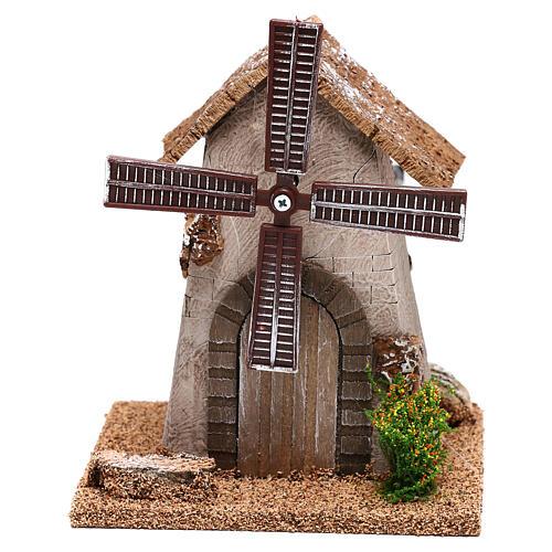 Windmill 20x15x10 cm, for 4-6 nativity 1