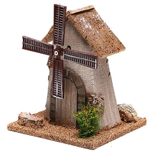 Windmill 20x15x10 cm, for 4-6 nativity 2