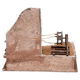 Ambientazione cordaro con scaletta presepi 12 cm s4