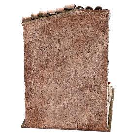 Décor vendeur de châtaignes 25x20x20 cm pour crèche de 12 cm s4