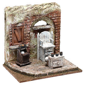 Setting for shoe shine 20x20x15 cm Nativity scenes 10 cm s3