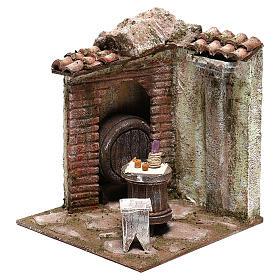 Inn 20x20x20 cm for Nativity scenes 12 cm s2