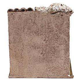 Scena osteria 20x20x20 cm per presepi 12 cm s4