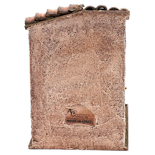 Escena escalera con olla castañas belenes 10 cm 4