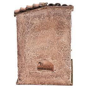 Scena scalinata con pentola castagne presepi 10 cm s4