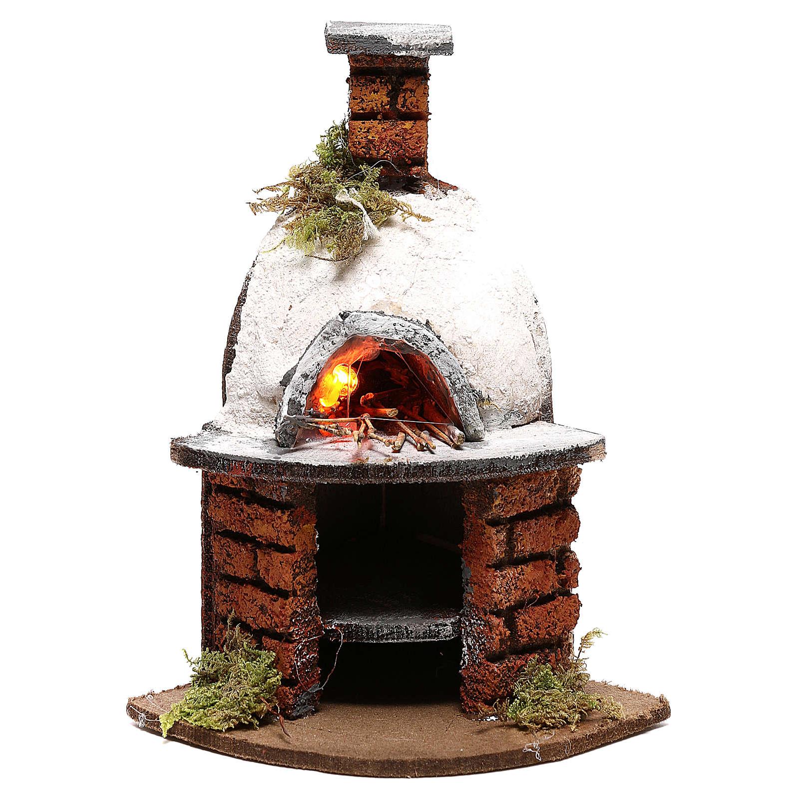 Dome oven for Neapolitan Nativity scene of 10 cm 4