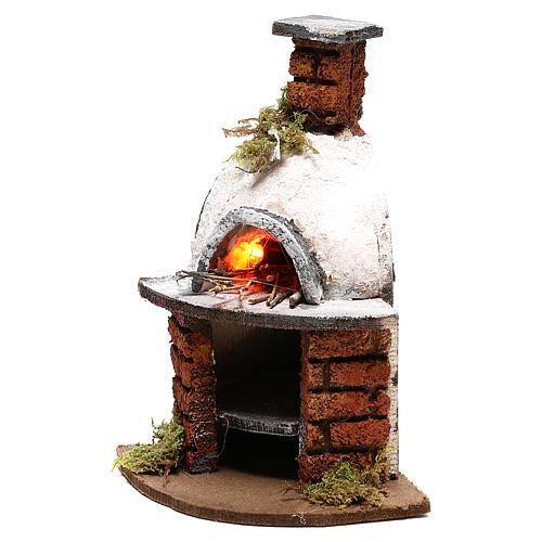 Dome oven for Neapolitan Nativity scene of 10 cm 2