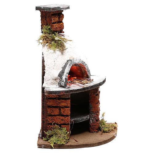 Dome oven for Neapolitan Nativity scene of 10 cm 3
