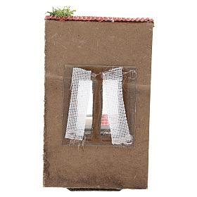 Balcón con ropa para belén napolitano de 10 cm s4