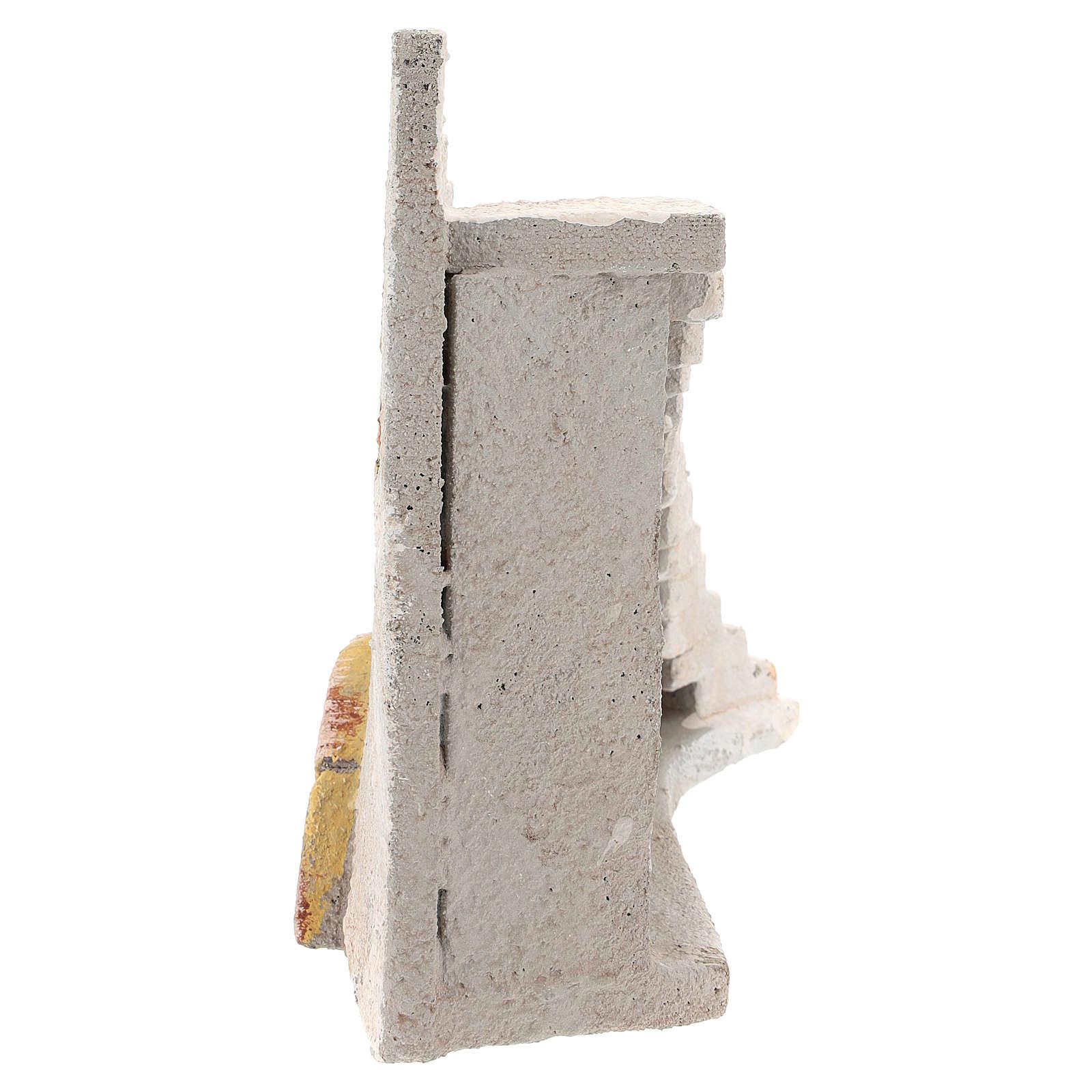 Escalera curva para belén napolitano de 8 cm 4