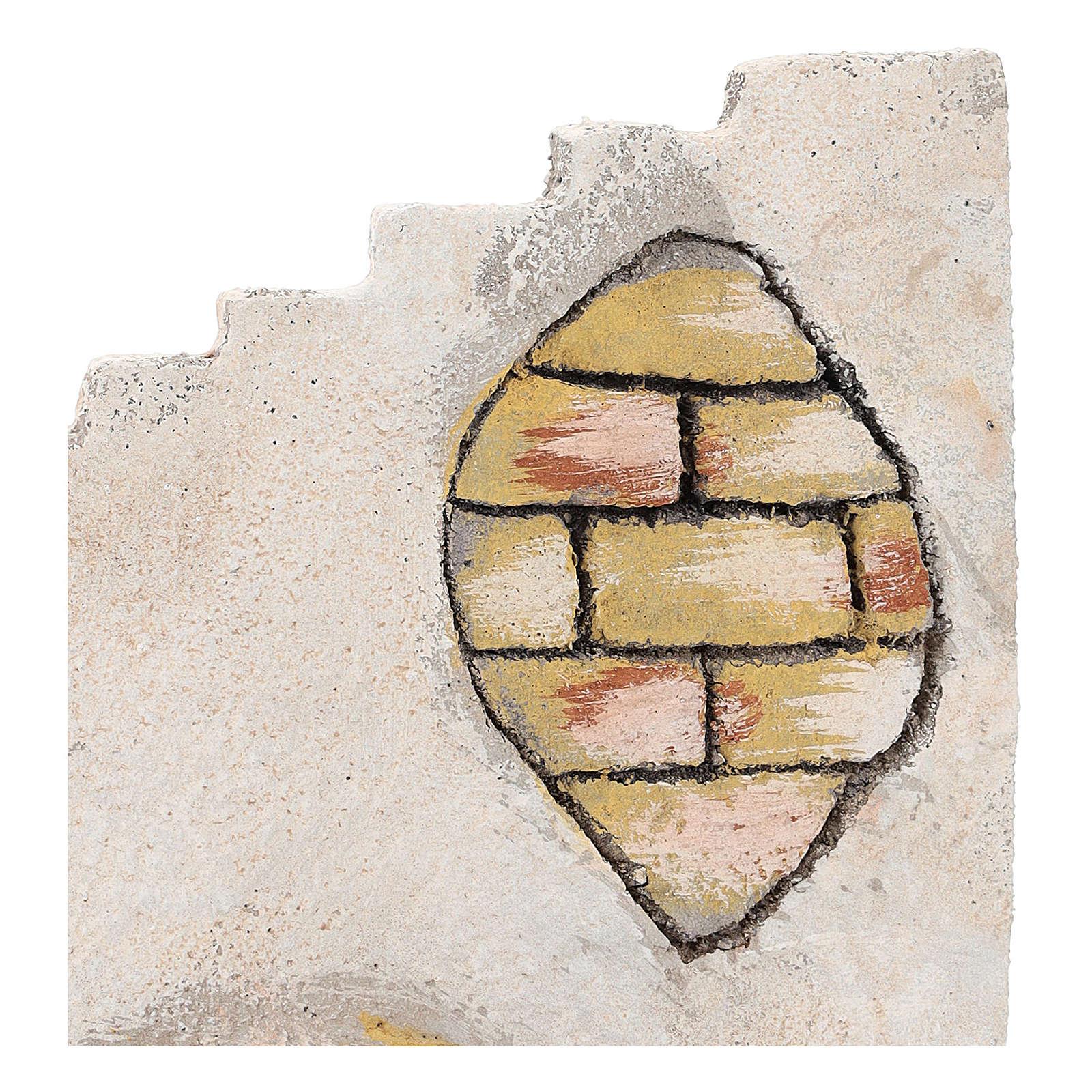 Scala curva per presepe napoletano di 8 cm 4