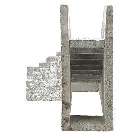 Corner staircase for Neapolitan Nativity Scene of 8 cm s4