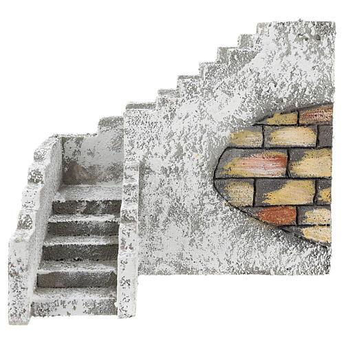 Corner staircase for Neapolitan Nativity Scene of 8 cm 1