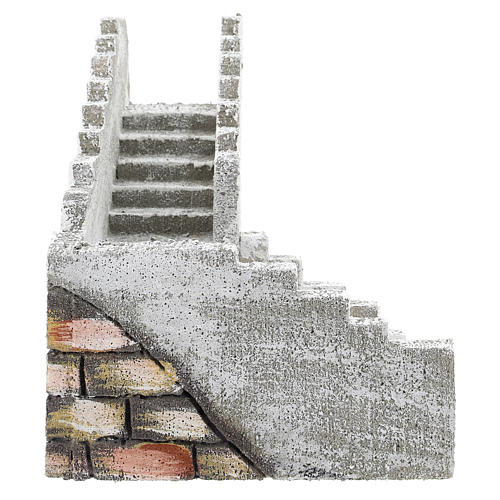 Corner staircase for Neapolitan Nativity Scene of 8 cm 3