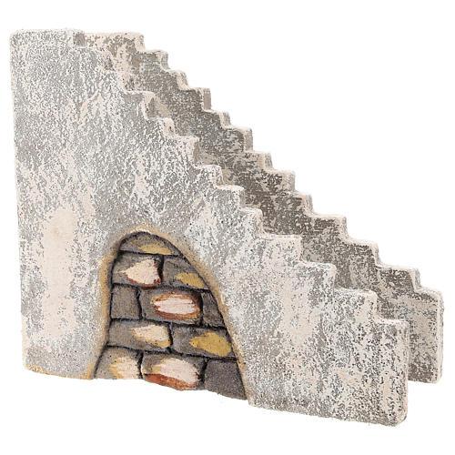 Staircase for Neapolitan Nativity Scene of 10 cm 3