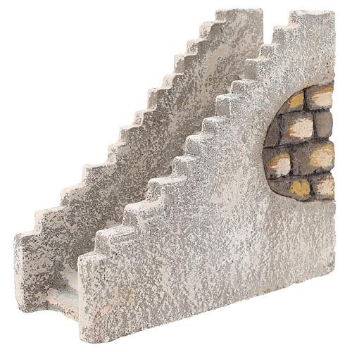 Escalera para belén napolitano de 10 cm 2