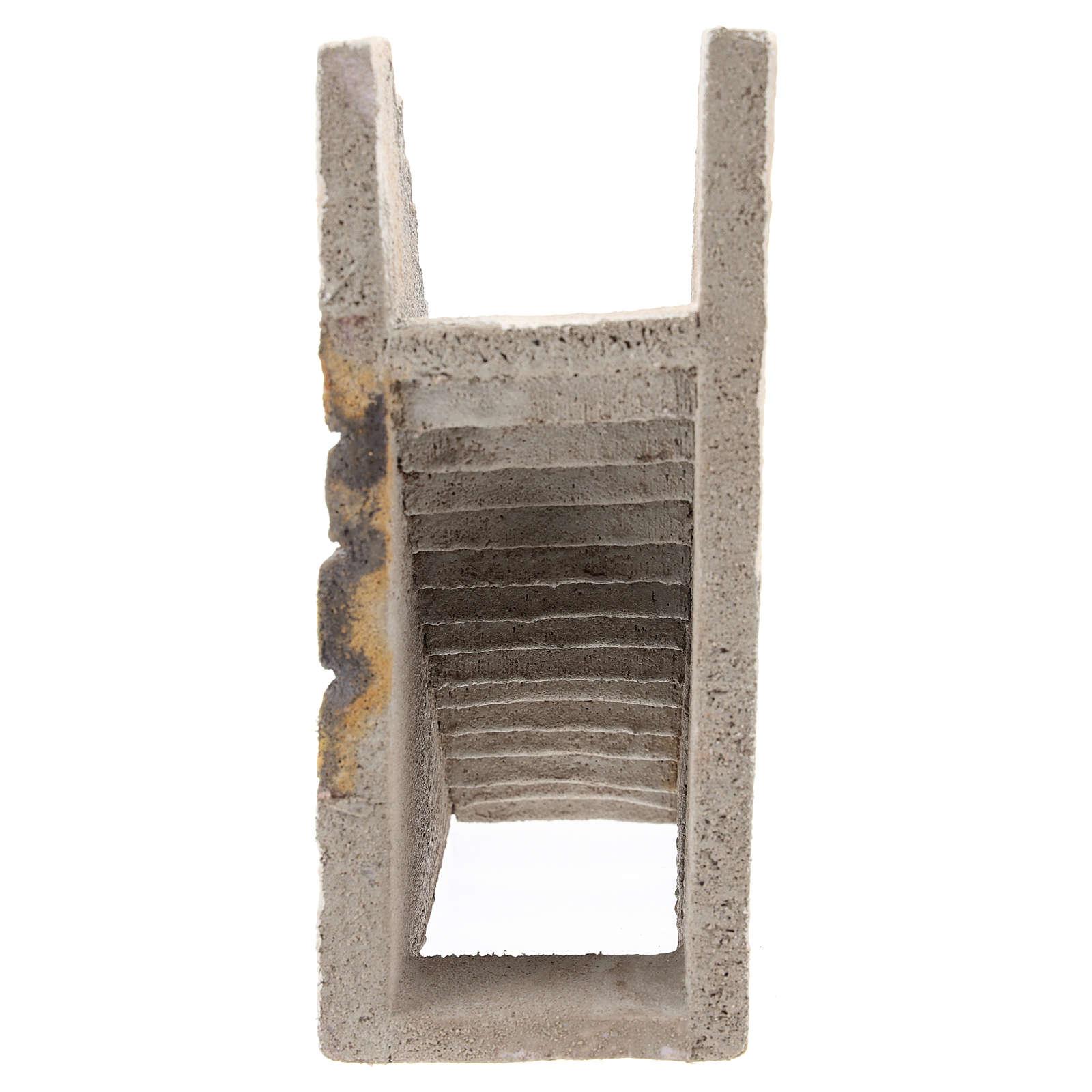 Scalinata per presepe napoletano di 10 cm 4