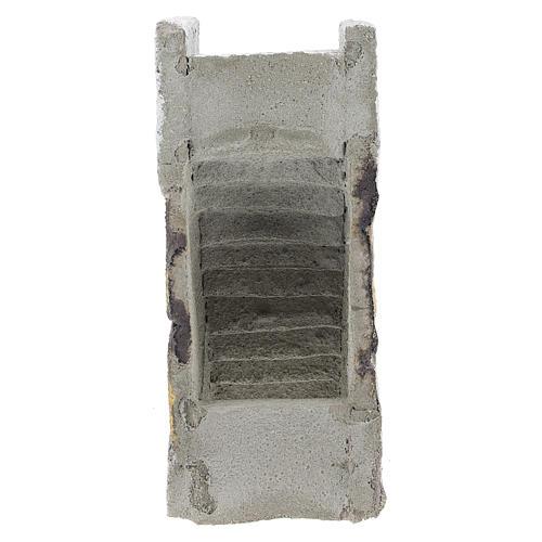 Escalera recta para belén napolitano de 8 cm 4