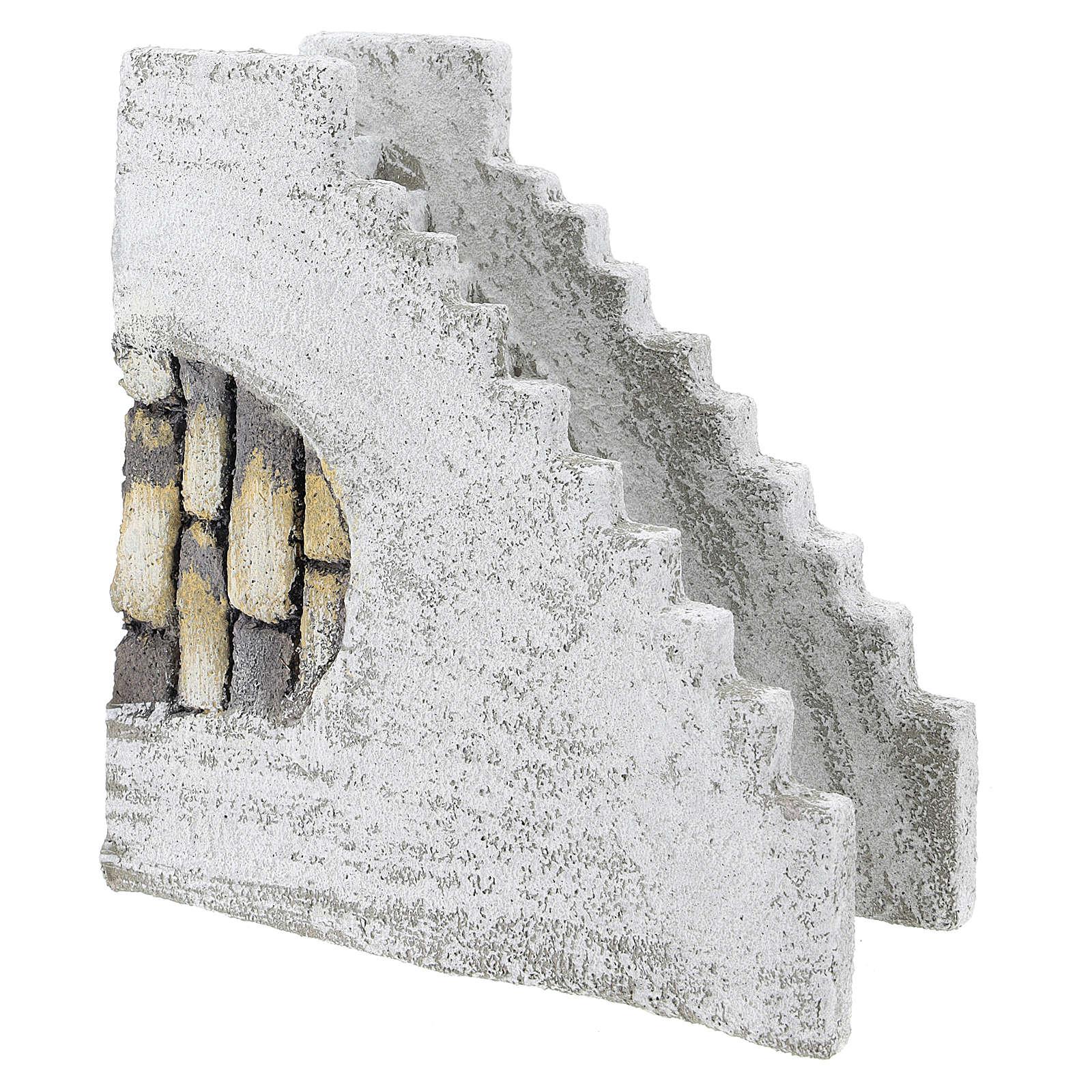 Scala dritta per presepe napoletano di 8 cm 4
