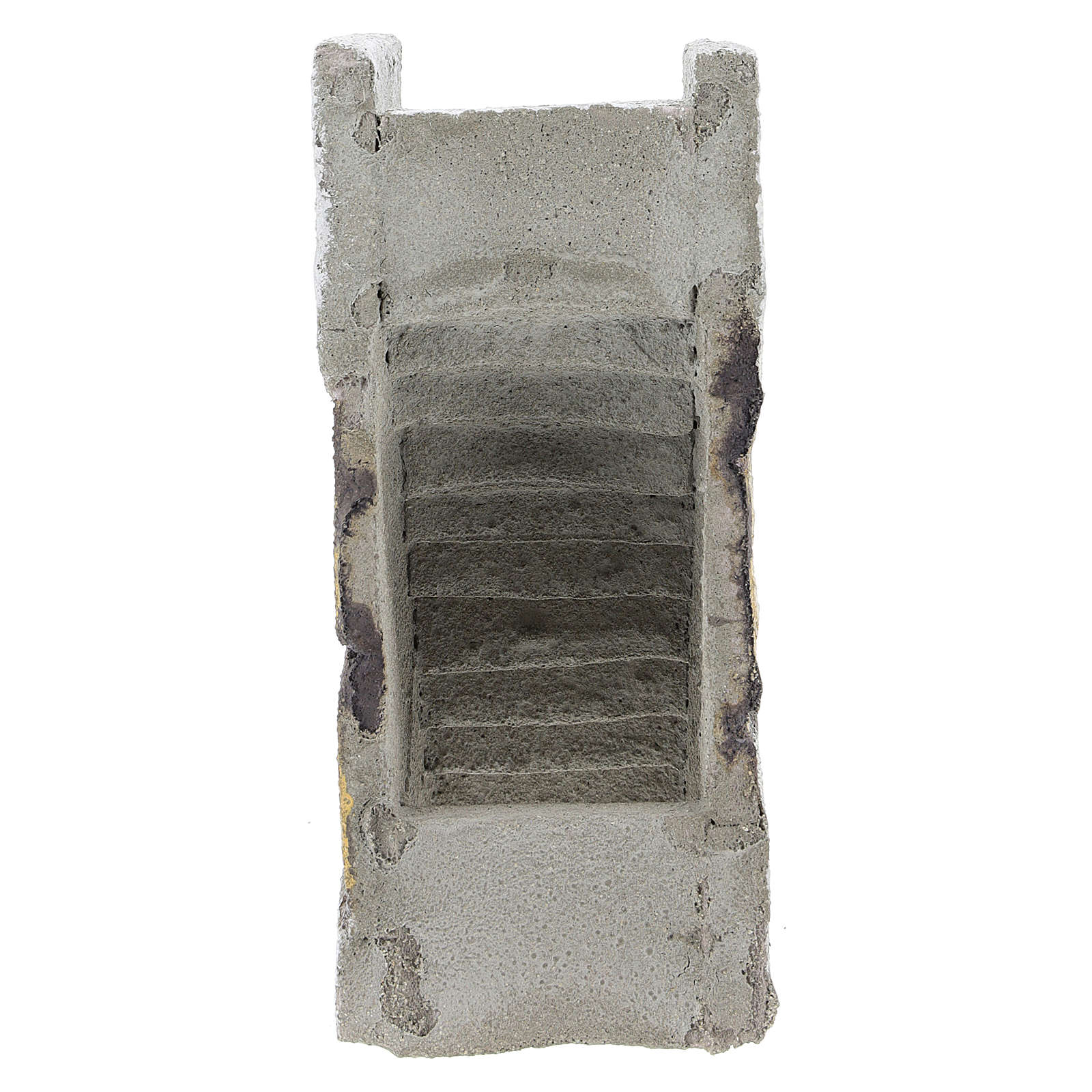 Escada reta para presépio napolitano com figuras de 8 cm de altura média 4