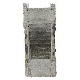 Escada reta para presépio napolitano com figuras de 8 cm de altura média s4