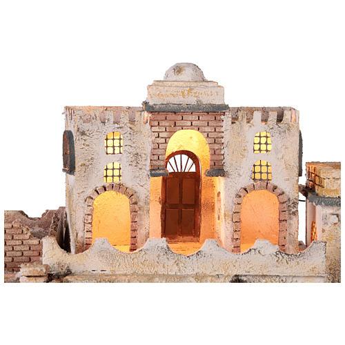 Pueblo en estilo árabe para belén napolitano de 8 cm 2