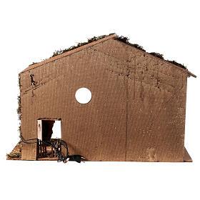 Shack setting for 12-16 cm Neapolitan Nativity scene 55x70x40 cm s4