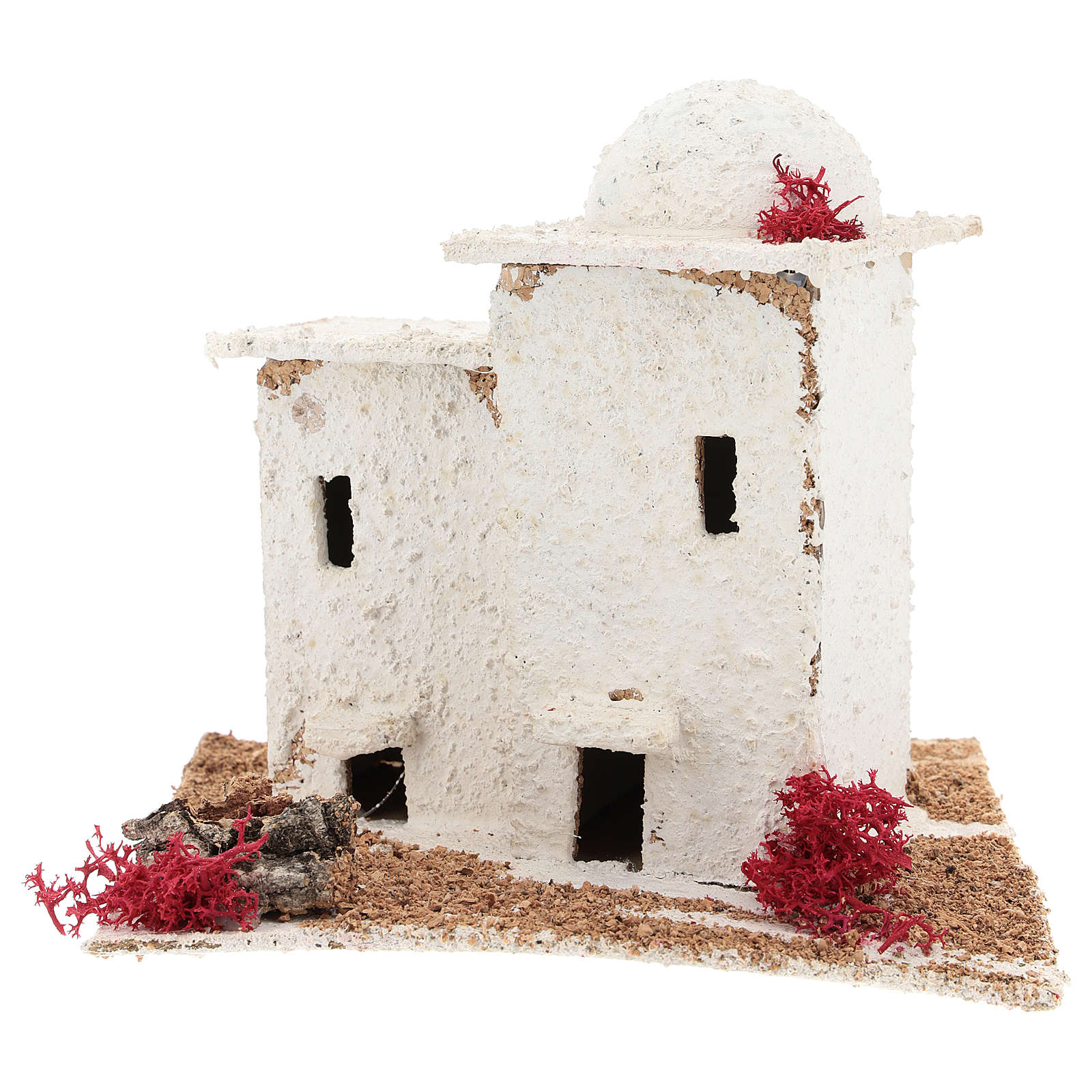 Arabic style house for Neapolitan Nativity scene of 6 cm 4