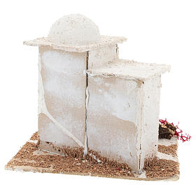 Arabic style house for Neapolitan Nativity scene of 6 cm s5