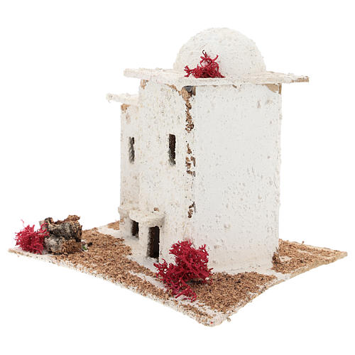 Arabic style house for Neapolitan Nativity scene of 6 cm 3