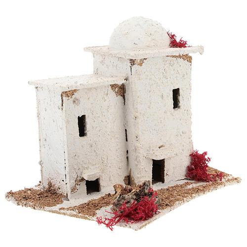 Casa in stile arabo per presepe napoletano di 6 4