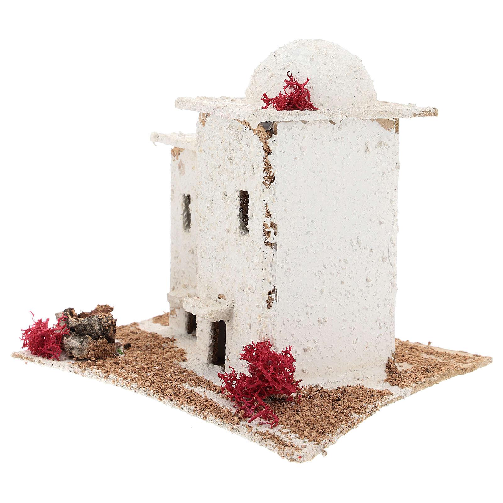 Casa de estilo árabe para presépio napolitano com figuras de 6 cm de altura média 4
