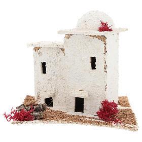 Casa de estilo árabe para presépio napolitano com figuras de 6 cm de altura média s1