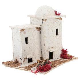 Casa de estilo árabe para presépio napolitano com figuras de 6 cm de altura média s4