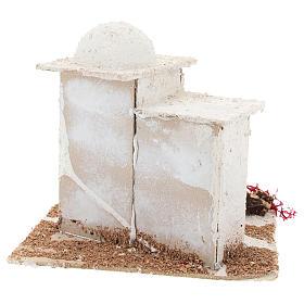 Casa de estilo árabe para presépio napolitano com figuras de 6 cm de altura média s5