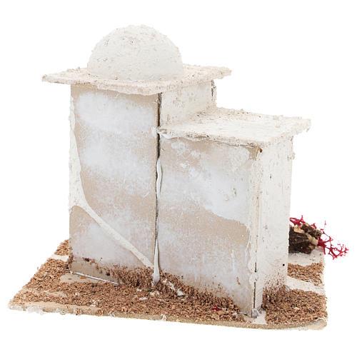 Casa de estilo árabe para presépio napolitano com figuras de 6 cm de altura média 5