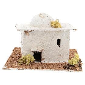Arabisches Häuschen mit Kuppel für 6cm neapolitanische Krippe s1