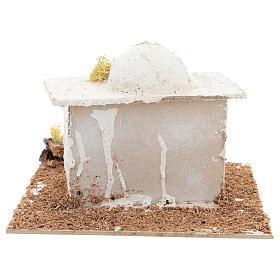 Arabisches Häuschen mit Kuppel für 6cm neapolitanische Krippe s4