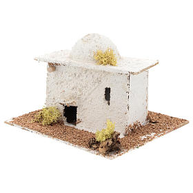 Arabic style house with dome for Neapolitan Nativity scene of 6 cm s2