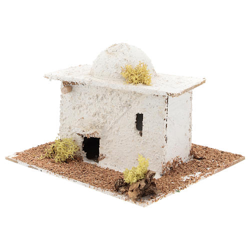 Arabic style house with dome for Neapolitan Nativity scene of 6 cm 2