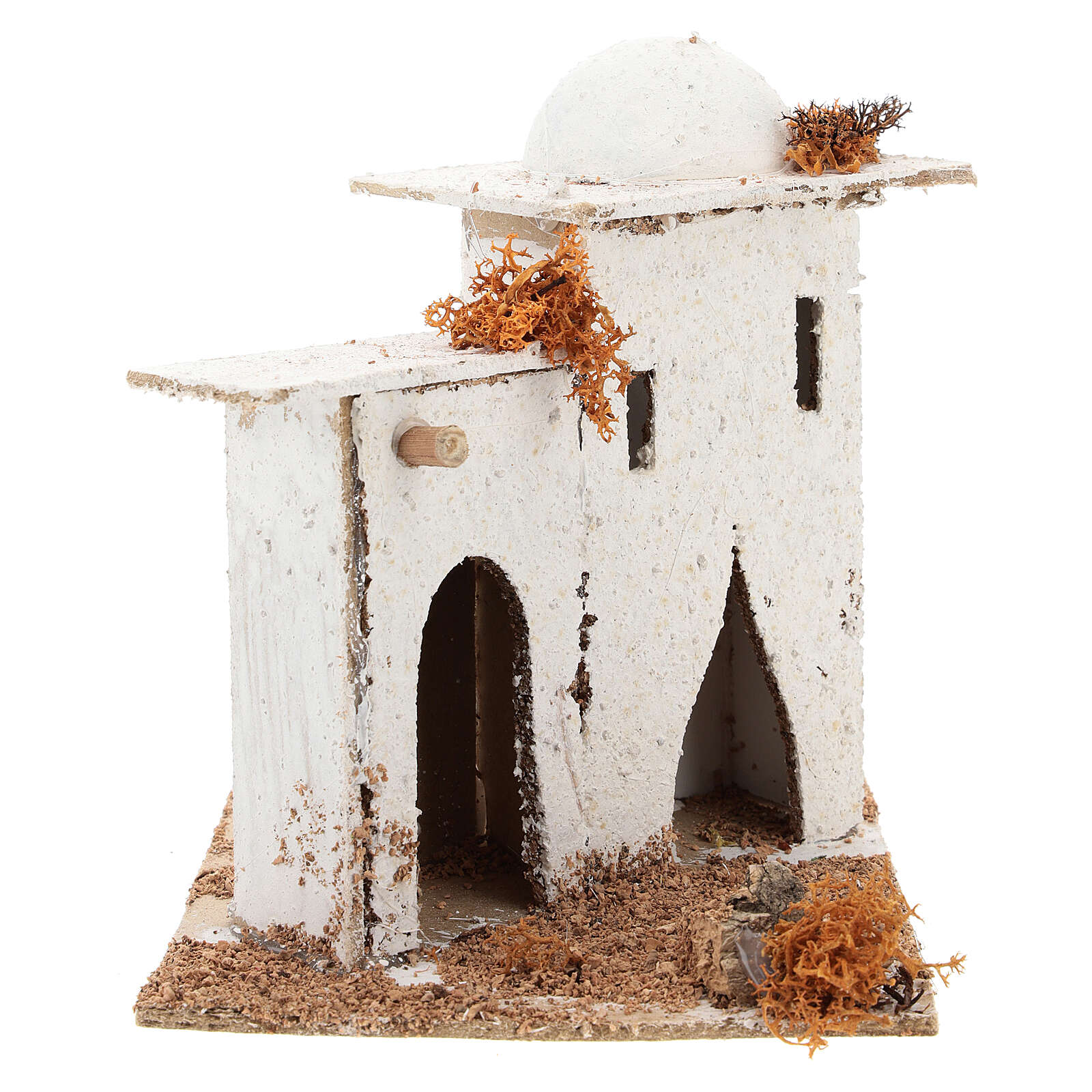 Arabian house with door and arch, for 6 cm Neapolitan nativity 4