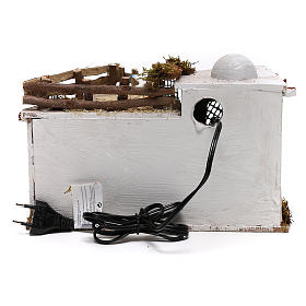 Arabic village with terrace with lights for Nativity Scene 15x25x15 cm s4