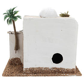 House with hut for Arabic style Nativity scene 15x20x15 s4