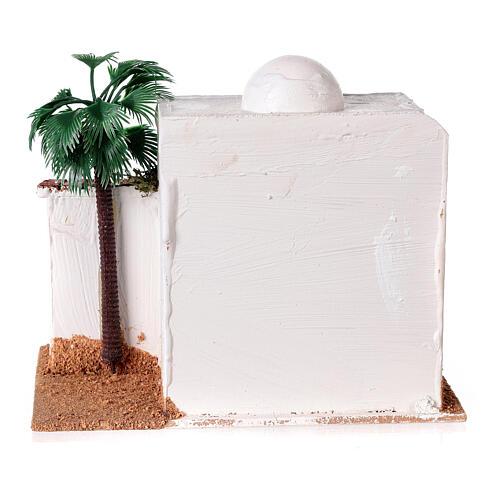 Casa con capanno presepe stile arabo 15x20x15 5