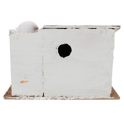 Casa para belén en estilo árabe con jarrón terracota 15x25x15 cm 4